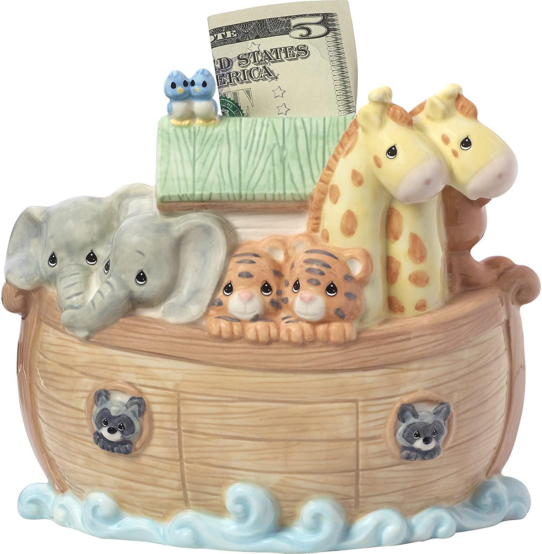 6. Noah's Ark Piggy Bank