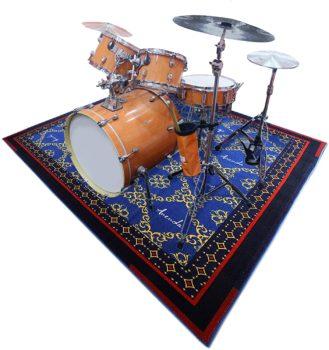 Non-Slipping Drum Rag