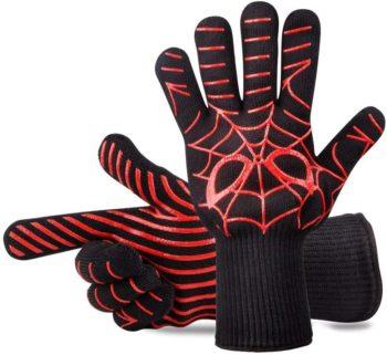 PANSHI Heat-Resistant BBQ Gloves