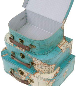 Paper Board Suit Cases
