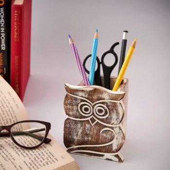 Pen holder cup office supplies