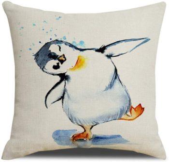 Penguin Pillow Case