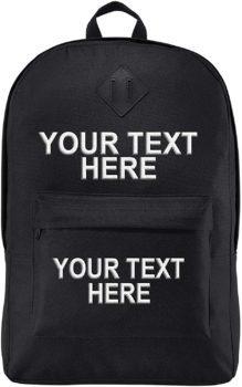 Personalized Custom School Backpack