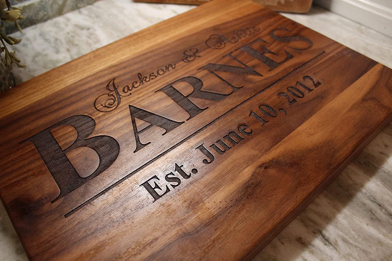 4. Personalized Cutting Board