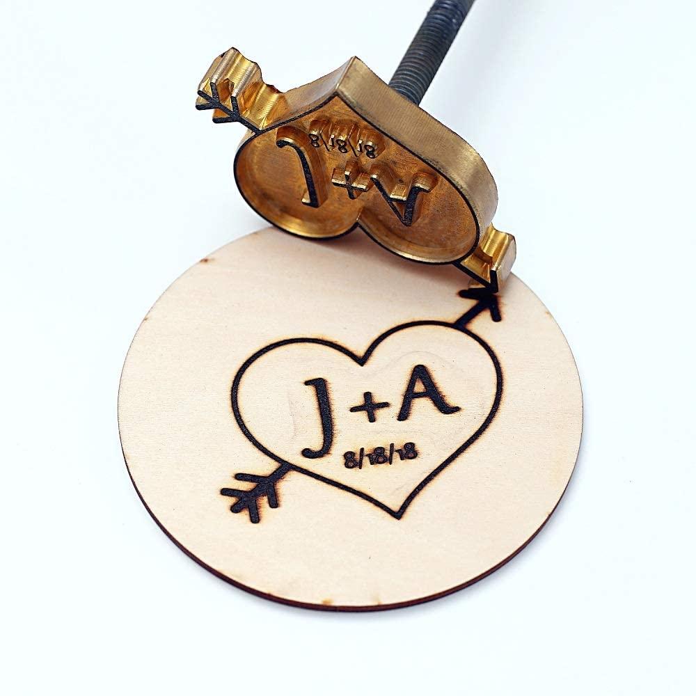 6. Personalized Wood Branding Iron
