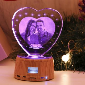 Personalized crystal lamps