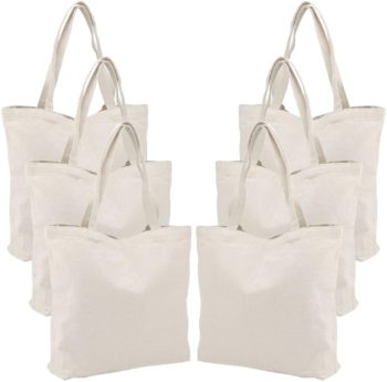 Personalized family party tote bags