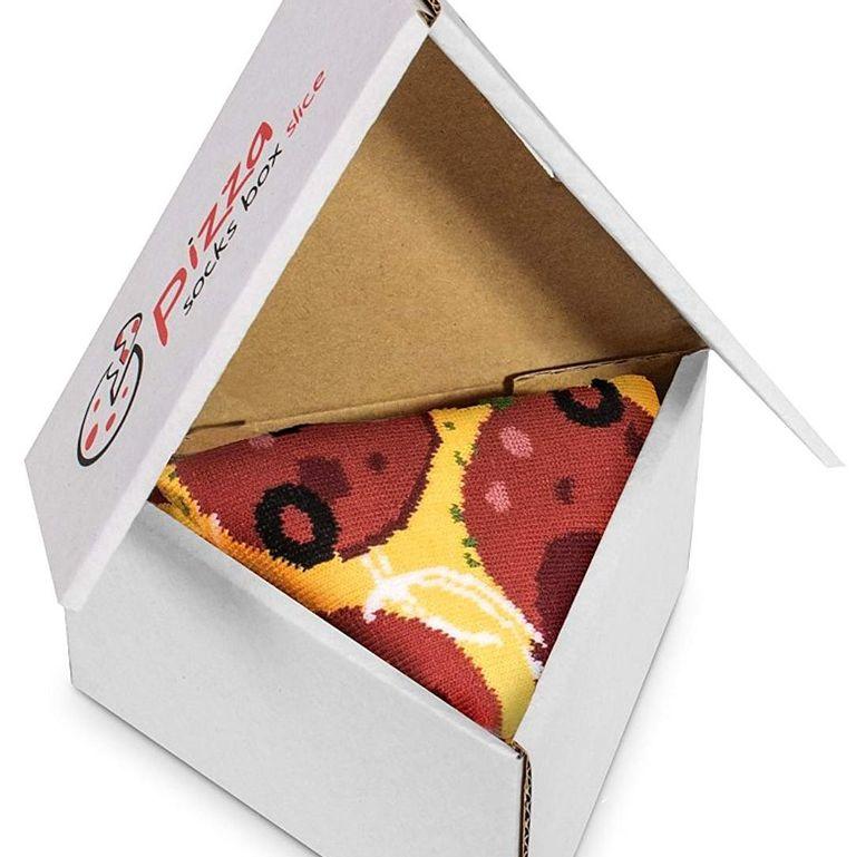 6. Pizza Socks Box