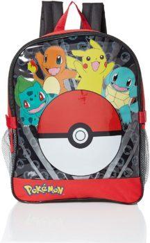 Pokemon boys backpack