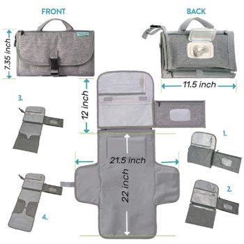 Portable Baby Bag