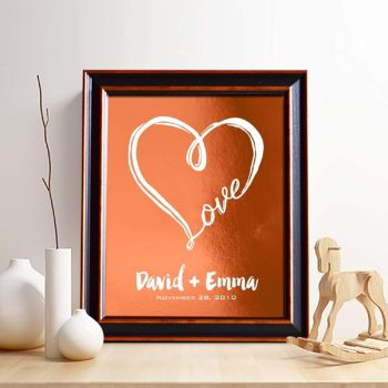 Print love for him