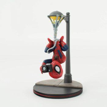 Quantum Mechanix Spider-Man Spider Cam Q-Fig Diorama