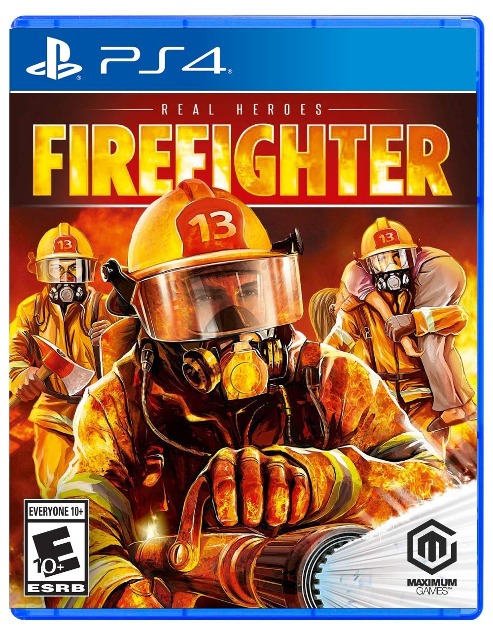 1. Real Heroes Firefighter for PlayStation 4