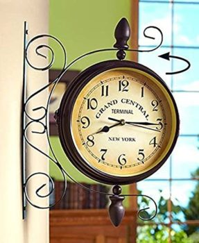 Retro Station Clock