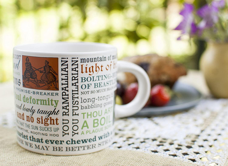 2. Shakespearean insults mug
