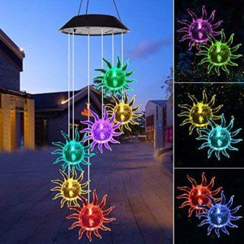 Solar Light Wind Chimes