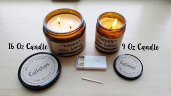Soy Candle Love Gift for Valentine