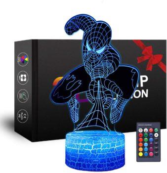 Spiderman 3D Night Lights for Kids