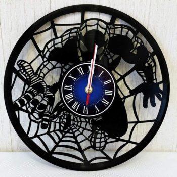 Spiderman Vinyl Record Wall Clock
