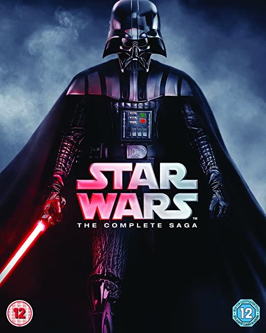 1. Star Wars - The Complete Saga (Episodes I-VI)
