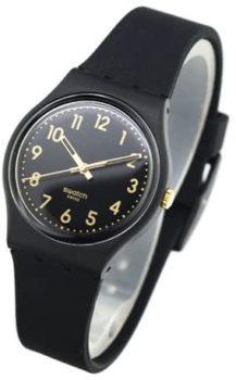 Swatch Classic Quartz Silicone Strap Casual Watch