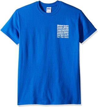 T-Line Men's the TV Series Fun Run Graphic T-Shirt