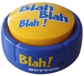 Talking Blue Button