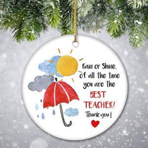Thanks Giving Ornament for Teachers