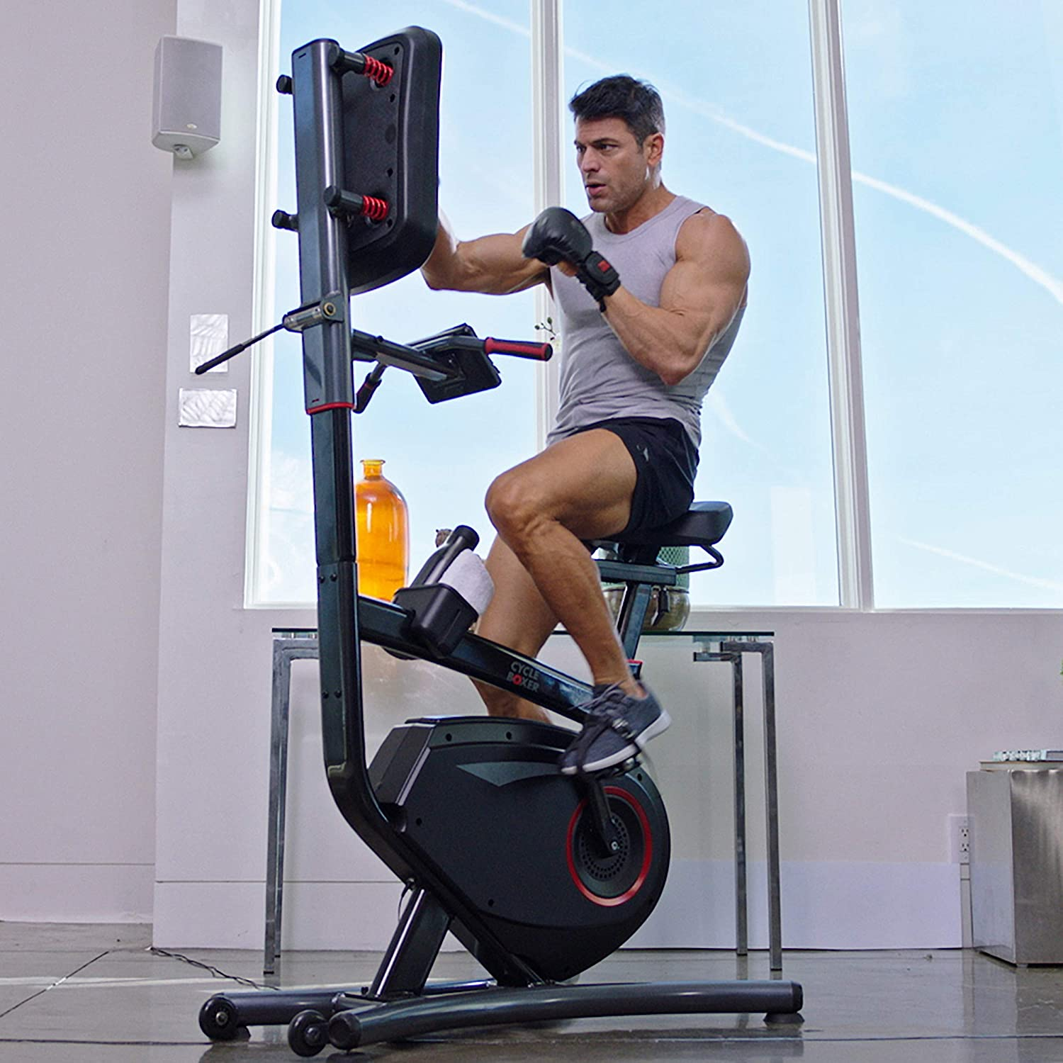 The Cycle Boxer Exercise Bike & Boxing Machine