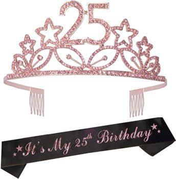 Tiara and Sash birthday crown