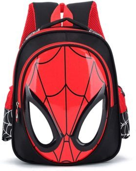 Toddler Girl and Boy Spiderman Backpack