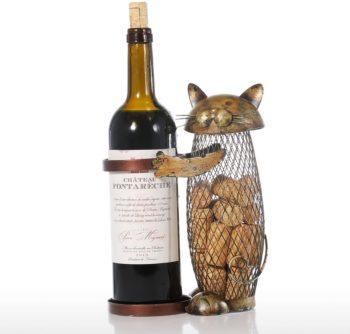 Tooarts Cat Wine Holder Cork