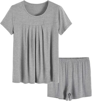 Top Shorts Pajamas Set