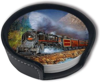 Train Art Coasters