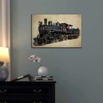 Train Engine Canvass – Wall Art