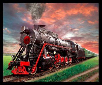 Tran Steam Engine Blanket