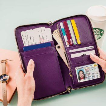 Travel Wallet Case