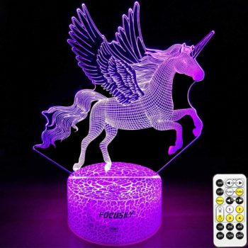 Unicorn Dimmable LED Nightlight Lamp