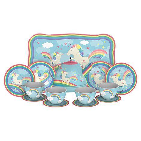 6. Unicorn Tea Set