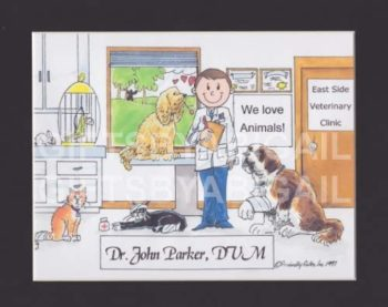 Veterinary cartoon
