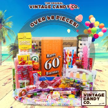 Vintage Candy Retro gift Box