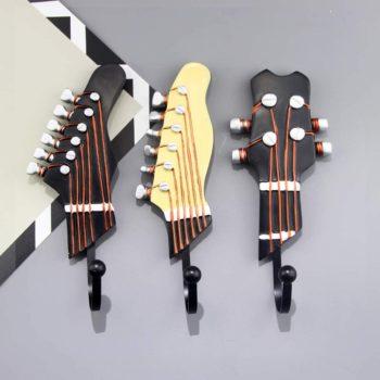 Vintage Guitar Shaped Hooks