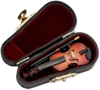 Violin Miniature Replica with Case