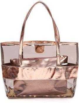 Waterproof transparent satchel