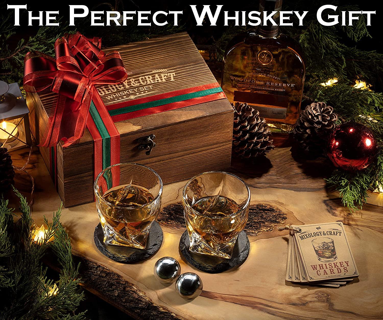 9. Whiskey Stones Gift Set