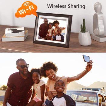 Wi-Fi digital photo frame