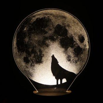Wolf Night Light