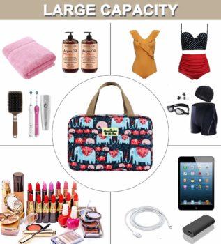 Women's makeup bag