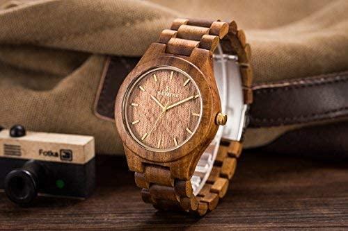 8. Wooden Wrist Watch