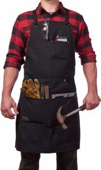 Work apron black